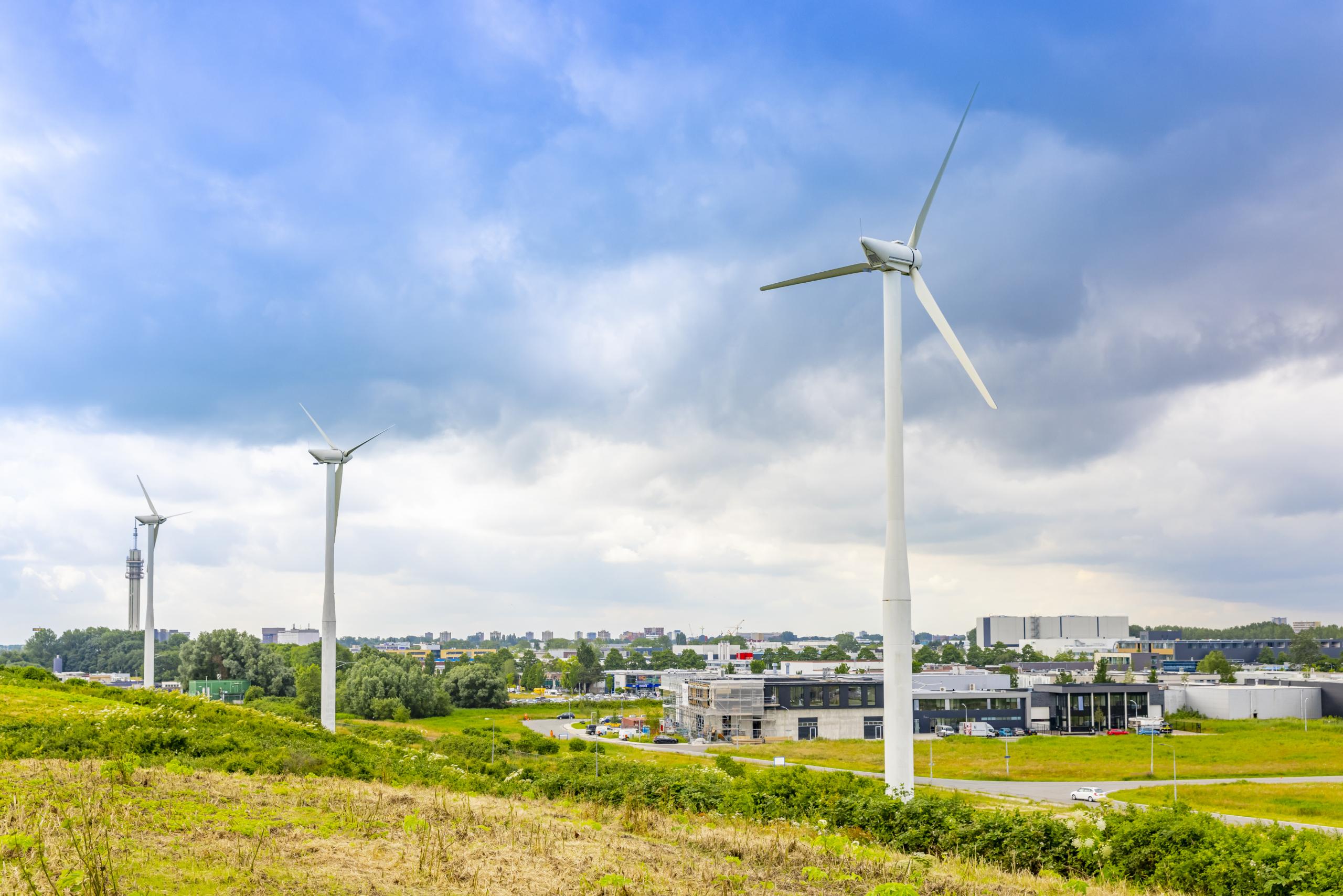 Windenergie Waarderpolder Haarlem Business Park